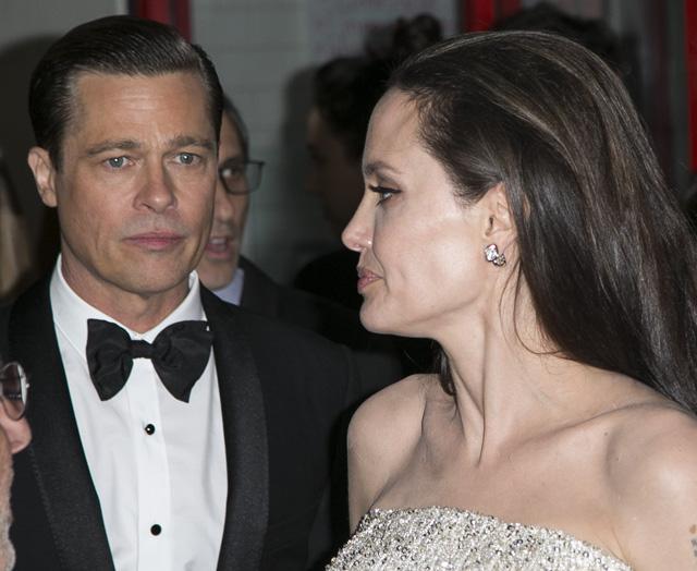 Actualidad Actualidad Angelina Jolie no quiere saber nada de Brad Pitt