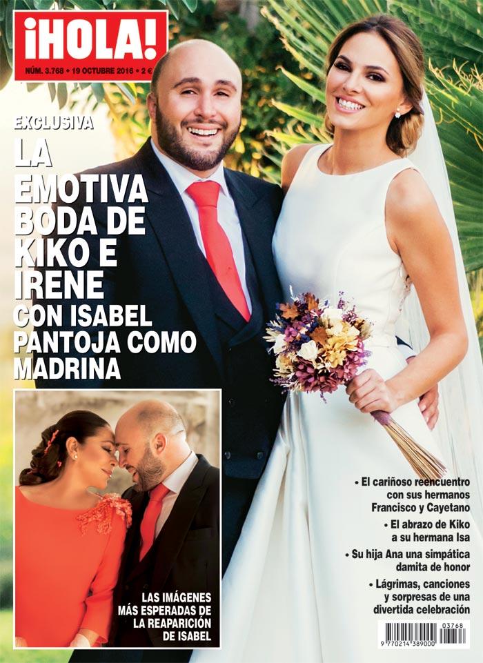 Actualidad Actualidad La emotiva boda de Kiko Rivera e Irene Rosales con Isabel Pantoja como madrina