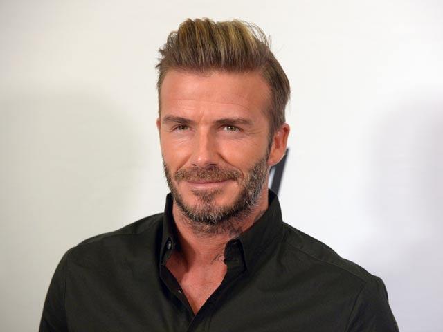 Actualidad Actualidad David Beckham visita su figura de cera