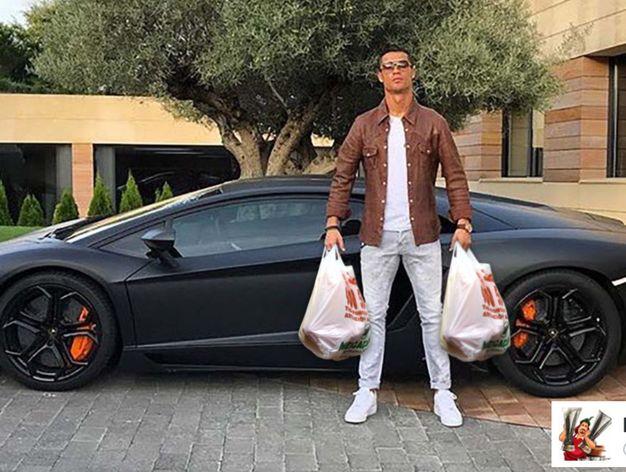 Actualidad Actualidad ¿Qué le pasa a Cristiano Ronaldo en los sobacos?
